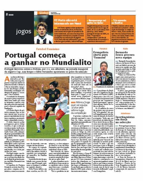 artigo Global, 5 de Março de 2009