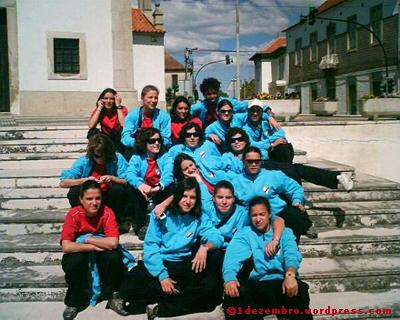 1º. Dezembro em Avanca, momentos antes da partida.