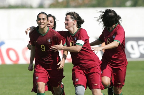 Carla Couto, Sofia Vieira, Paula Cristina e Sílvia Brunheira (© FPF)
