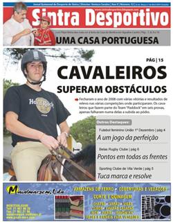 Edição nº 32 do Sintra Desportivo