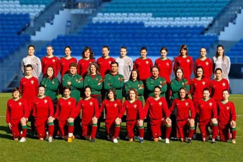 Selecção Nacional de Futebol Feminino 2009 (  FPF)