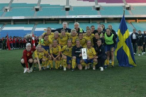 Suécia vence a edição 2009 do Mundialito de Futebol Feminino