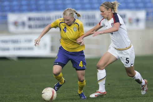 Suécia vs EUA, final Algarve Cup 2009