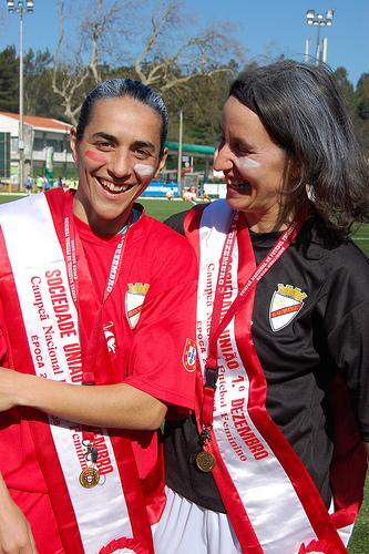Carla Couto e Carla Cristina, dois símbolos do 1º. Dezembro
