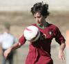 Elsa Ventura, capitão da Selecção Sub-19 e jogadora do Odivelas F.C.