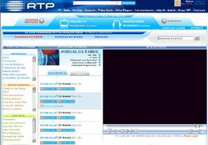 Vídeos RTP, com o Telejornal de hoje
