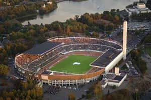Estádio Olímpico de Helsínquia (© UEFA)