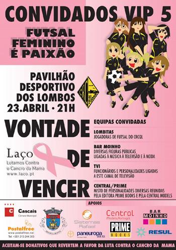 """Hoje, a partir das 21 horas, no Pavilhão Desportivo dos Lombos, """"Convidados Vip V"""""""