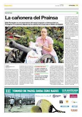 El Periodico de Aragón, 24.05.09