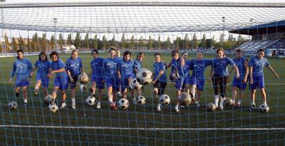 Equipa de Ana Borges, Cláudia Neto, Edite Fernandes e Sónia Matias (© El Periódico de Aragón)