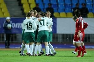 1ª mão UEFA Women's Cup 2008/2009, Zvezda 2005 vs Duisburg