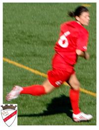 Cátia Relíquias, jogadora do S.U. 1ºDezembro há 11 anos