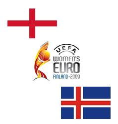 Inglaterra vs Islândia, 16 de Julho, Colchester (Ing.)