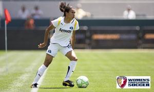 Marta, jogadora do Los Angeles Sol (ex-Umea IK, Suécia)