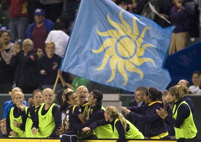 Marta marcou o golo da vootória do Los Angeles Sol sobre o Sky Blue FC