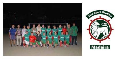 A equipa de 2008/2009 do Marítimo (Madeira)