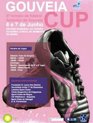 A equipa  da S.U.1º de Dezembro vai estar no 5º Gouveia Cup