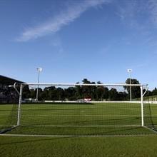 O Estádio Colovray, em Nyon, vai receber os jogos da fase final do Europeu Feminino de Sub-17 (©empics)