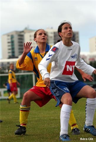 Joana Pavão, jogadora do I'R, Islândia