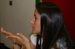 A Seleccionadora Nacional Mónica Jorge