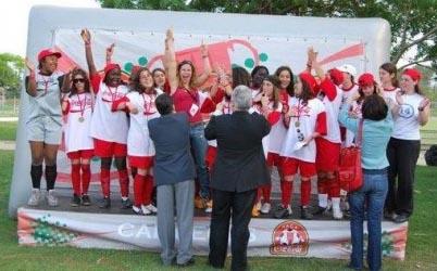 """""""Quincas Team"""", repleta de jovens jogadoras cheias de talento"""