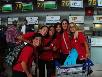 Cátia Relíquias, Helga Portugal, Sílvia Brunheira, Dolores Silva, Carla Cristina e Sónia Matias