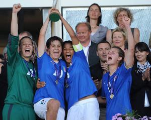 Itália, a campeã em título