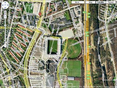 O Brondby Park Hotek no Google Maps