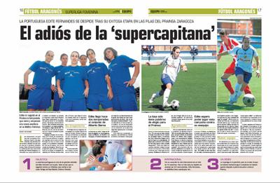 Reportagem do Diario de Equipo de 19 de Julho