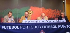 O Director Desportivo, Carlos Godinho, explicou as medidas de apoio previstas para o Futebol Feminino na presente época (©FPF)