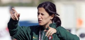 Mónica Jorge antevê dificuldades diante da Itália (©Francisco Paraíso/FPF)