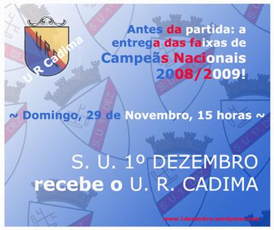 1º Dezembro vs Cadima
