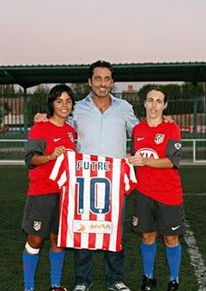 portuguesas no Atlétcio de Madrid