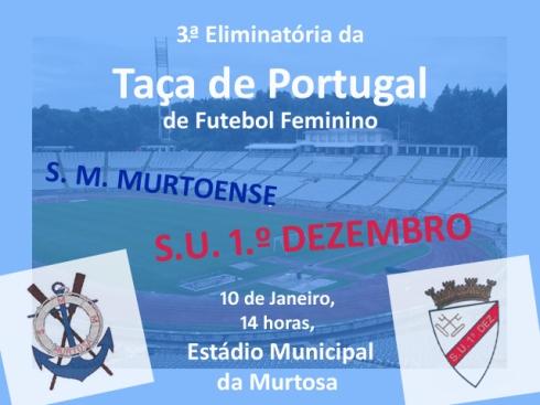 flyer Taça Murtoense - 1.º Dezembro
